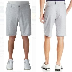 adidas Heather Gray Golf Active Ultimate Shorts 32